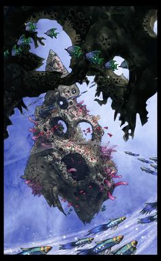 Sky Reef by s-mcmurchy on deviantART