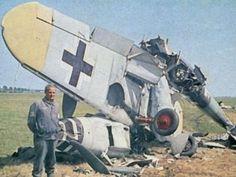 Bf 109 total loss