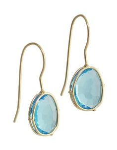 This set of Swiss blue topaz earrings are a part of the Harriet Collection and are quickly becoming Heather Moore essential got to have earrings!