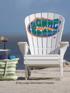 Gators Adirondack chair