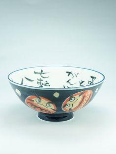 Daruma Bowl. Dimensions: ø14cm x 6,5cm (ø5.5 in x 2.6in) Made in Japan