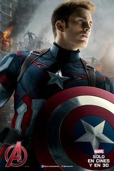 Chris Evans Captain America Auto Avengers Age of Ultron Captain America Poster, Captain America Civil War, Chris Evans Captain America, Capitan America Chris Evans, Iron Man Captain America, Captain America Images, The Avengers, Avengers Film, Marvel Comics