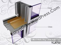 3D Modeling Curtainwall Autocad, 2d, Glass, Model, Drinkware, Corning Glass, Scale Model, Models