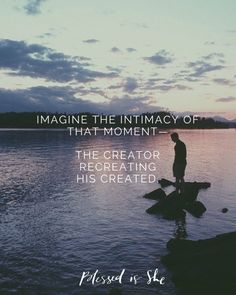 The next time you feel the urge to Instagram or tweet a moment, stop and take a few minutes with God. Just you and Him.