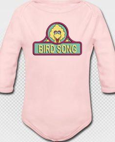 Baby Grateful Dead Bird Song Long Sleeved by JambandLotShirts