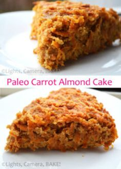 If you love carrot and almonds, you are going to love this Paleo Carrot Almond Cake! This is gluten free, grain free, refined sugar free, dairy free. Almond Recipes, Paleo Recipes, Baking Recipes, Paleo Meals, Baking Desserts, Sweet Recipes, Dairy Free, Grain Free, Gluten Free