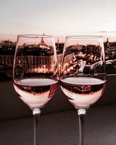 rose gold wine