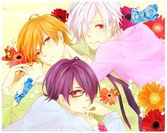 Brother Conflict~ The triplets.