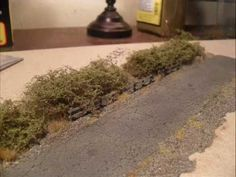 Model railroad scenery: Modeling quick realistic trees - YouTube