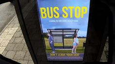 Prankster Photoshops People Into Ads While They Wait for the Bus
