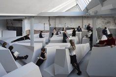 Pourriez-vous travailler dans cet open space où la position assise est bannie ?