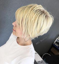 "469 Likes, 4 Comments - KEY KUAFÖR (@keykuafor) on Instagram: ""@keykuafor ❤️ #love#instahair#blonde#cut#haircut"""