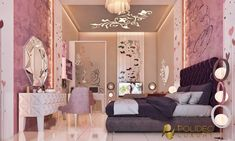 young bedroom with royal touches - KSA royal bedroom for girl Home Design, Design Girl, Royal Bedroom, Luxurious Bedrooms, Perfect Photo, Great Photos, Girls Bedroom, Exterior Design, Studio