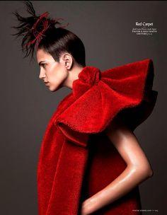 Vogue Holanda Dezembro 2014 | Amanda Wellsh por Ishi [Editorial]