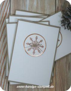 Claudinchens-kreative-Seite: Unsere Weihnachtskarten dieses Jahr