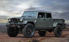 View I Predict a Riot: Jeep Kaiser Crew Chief 715 Concept Shipping Out to Moab Photos from Car and Driver. Find high-resolution car images in our photo-gallery archive.