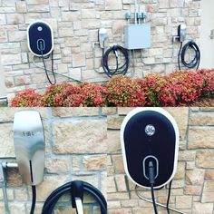 Our Tesla and GM electric car charging station at the Hilton Garden Inn Springfield, MO