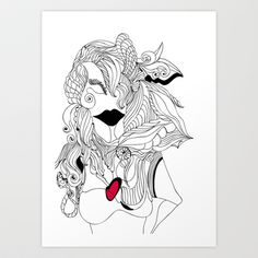 Heart of a Woman Art Print Promoters