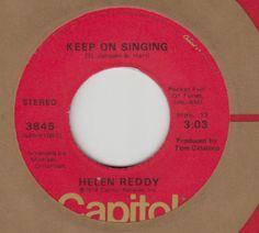 """helen reddy """"keep on singing"""""""