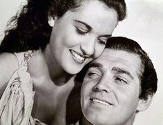 Movita and Clark Gable, MUTINY ON THE BOUNTY (1935).