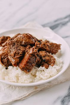 Pork Adobo recipe, by thewoksoflife.com