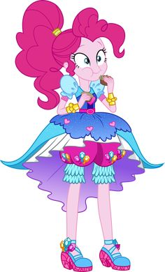 Legend of Everfree: Crystal Gala Pinkie Pie by ImperfectXIII.deviantart.com on @DeviantArt