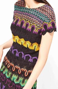 patternprints journal: PATTERNS AND PRINTS FROM PRE-SUMMER 2015 WOMAN FASHION COLLECTIONS / Missoni