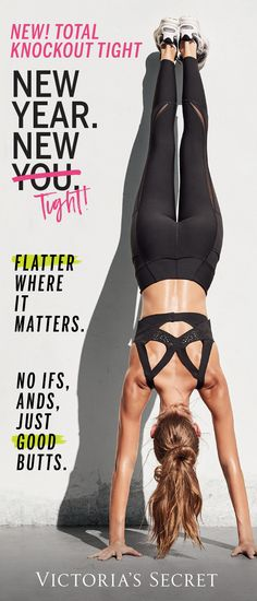 The New Total Knockout Tight = flatter where it matters | Victoria Sport