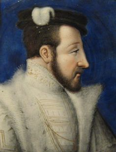 Prince Henry of France married Catherine de Medici in 1533. Crowned as  King Henry II in 1547 following the death of his brother King Francis. It was not until 1544 that Catherine produced their first son Francis, followed by a daughter Elizabeth in 1544. They had 10 children, of whom 8 survived infancy.. Francis II , King of France; Elizabeth, Queen of Spain; Claude, Duchess of Lorraine; Charles IX, King of France; Henry III, King of France; Margaret, Queen of France; Francis Duke of Alencon.
