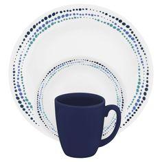 Corelle® Livingware™ Ocean Blues 16 Pc Dinnerware SetLivingware™ Ocean Blues 16 Pc Dinnerware Set