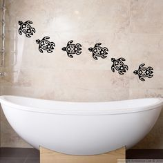 1000 images about galerie sticker salle de bain bathroom wall decal gallery on pinterest - Revetements muraux pour salle de bain ...