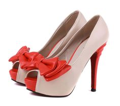 Sweet princess fashion style high heel pumps SY-C1218 apricot