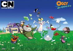 """Kalo lagi ga mau nonton tayangan yang bikin banyak mikir, nonton aja nih film kartun """"Oggy And The Cockroaches"""" di channel Cartoon Network. Pasti menghibur deh! ^_^"""