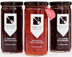 We love the deliciously creative flavors of Emily G's jams.