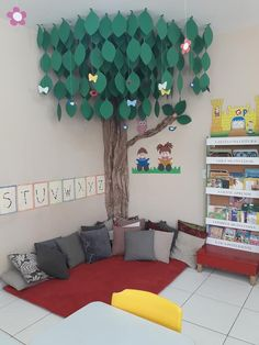 reading area in classroom