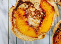 Peach upside-down pancakes - cookieandkate.com gf with oat flour