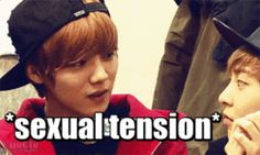 random otp meme exo macro caps Luhan not funny Minseok xiumin xiao lu I dunno just Xiuhan I guess Lulu looks at Minnie so... I dunno you know what I mean lol