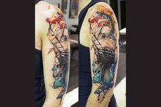 Water Color Tattoo (552) Color Tattoos, Watercolor Tattoo, Beautiful, Color Tattoo, Temp Tattoo