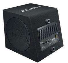 Hertz dBA 200.3haut-parleurs pour voiture 140W: Haut-parleur auto – Hertz DBA 200.3 – Caisson de subwoofer actif 200 mm 140 W avec…