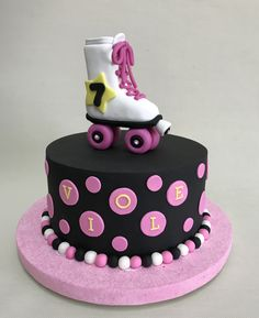 Torta Soy Luna - Soy Luna Cake Violeta Glace