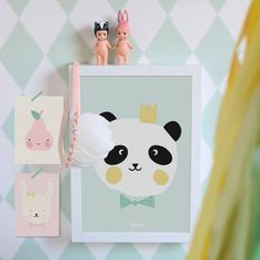 Eef Lillemor poster king panda A3