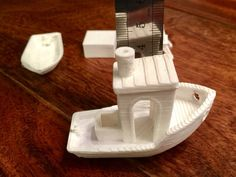 #3DBenchy - The jolly 3D printing torture-test by Frankincell