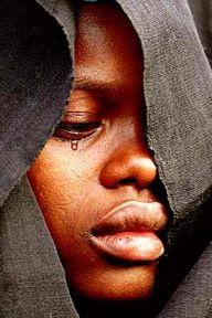 The tear: a liquid manifestation of a soul.