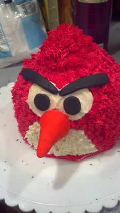 Angry bird cake - photo only