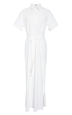 Shop Full-Length Shirt Dress by Rosie Assoulin Now Available on Moda Operandi...BozBuys Budget Buyers Best Brands! ejewelry & accessories for the entire family!  Happy Pinning! :)  http://www.BozBuys.com