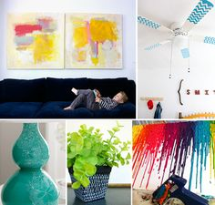 Modern Parents Messy Kids: 5 Easy Ways to Spice up Your Space with Paint