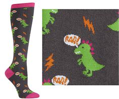 Dinomite Knee-High Socks $9