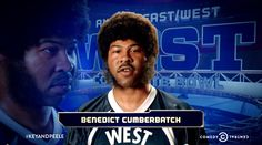 Key and Peele let us see what Benedict would look/be like if he was a black football player. HA! Also, they put his name up with J'Dinkalage Morgoone and Tyroil-Smoochie Wallace on the level of ridiculous names…