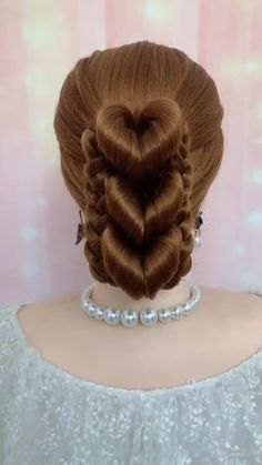 Hairdo For Long Hair, Bun Hairstyles For Long Hair, Bride Hairstyles, Hairstyle Braid, School Hairstyles, Beautiful Hairstyles, Quick Hairstyles, Party Hairstyles, Front Hair Styles