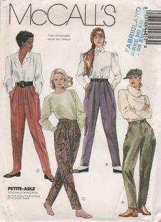 JODPHURS & PANTS Pattern McCall's 4481 Uncut Size 10